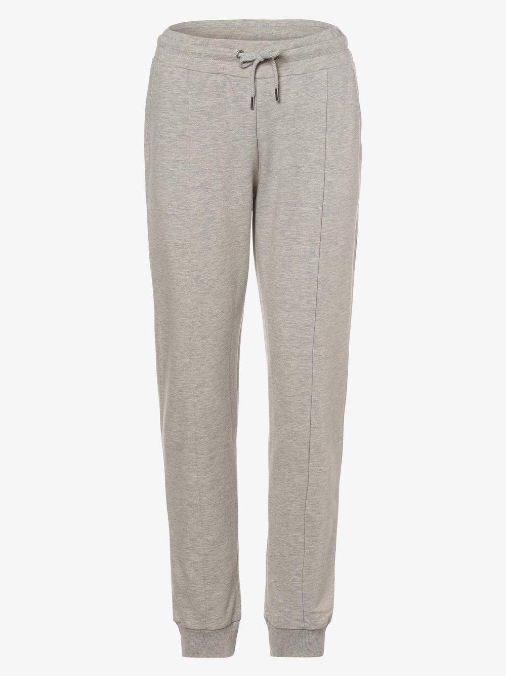 Marie Lund - Damskie spodnie dresowe, szary