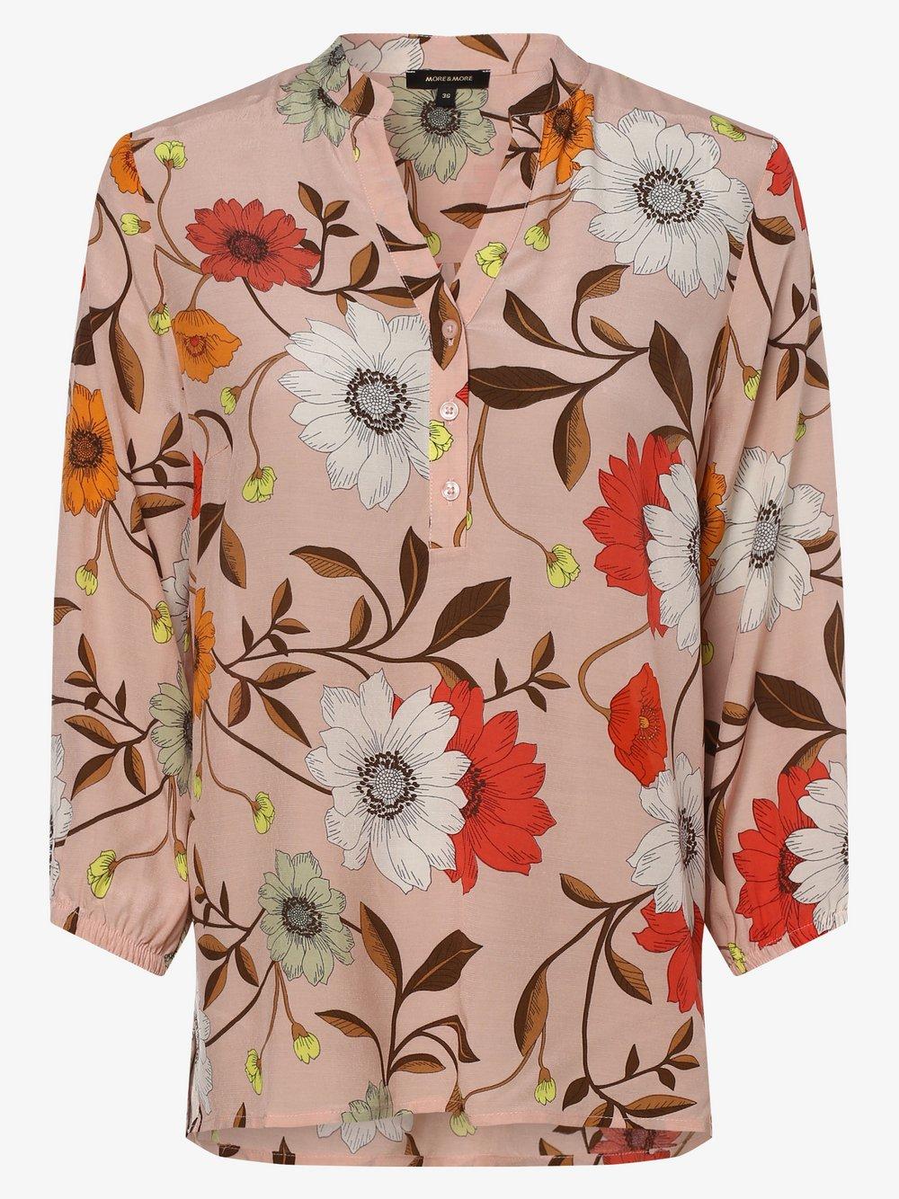 More & More – Bluzka damska, różowy Van Graaf 470476-0001-00360