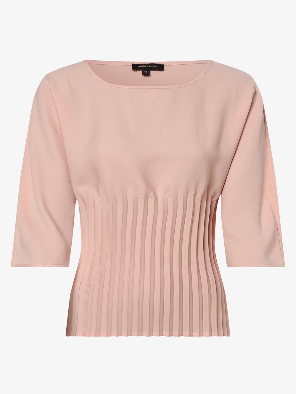 More & More – Bluzka damska, różowy Van Graaf 470481-0001