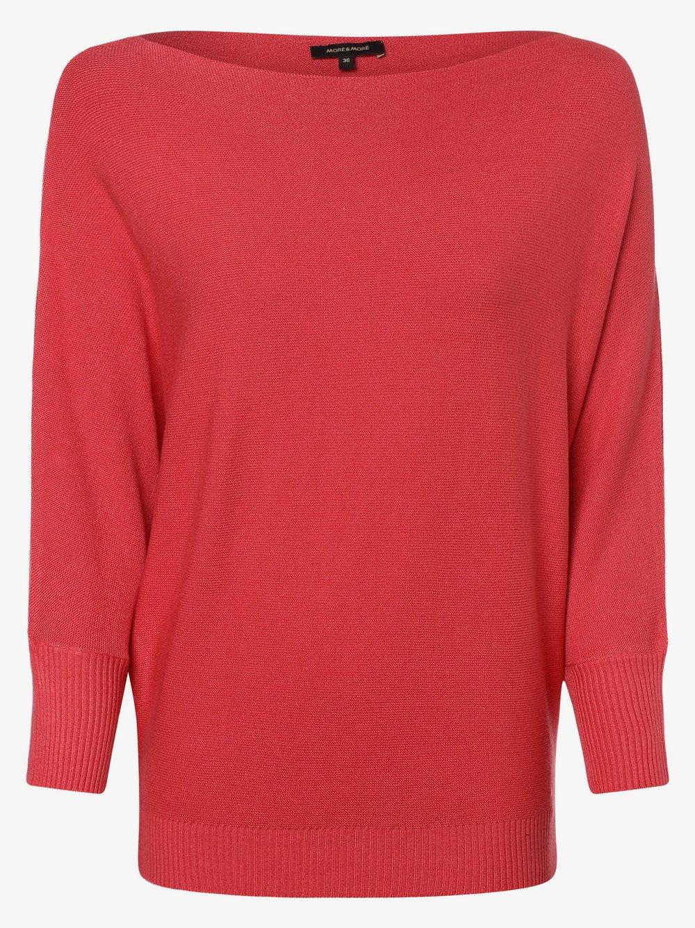 More & More - Sweter damski, czerwony