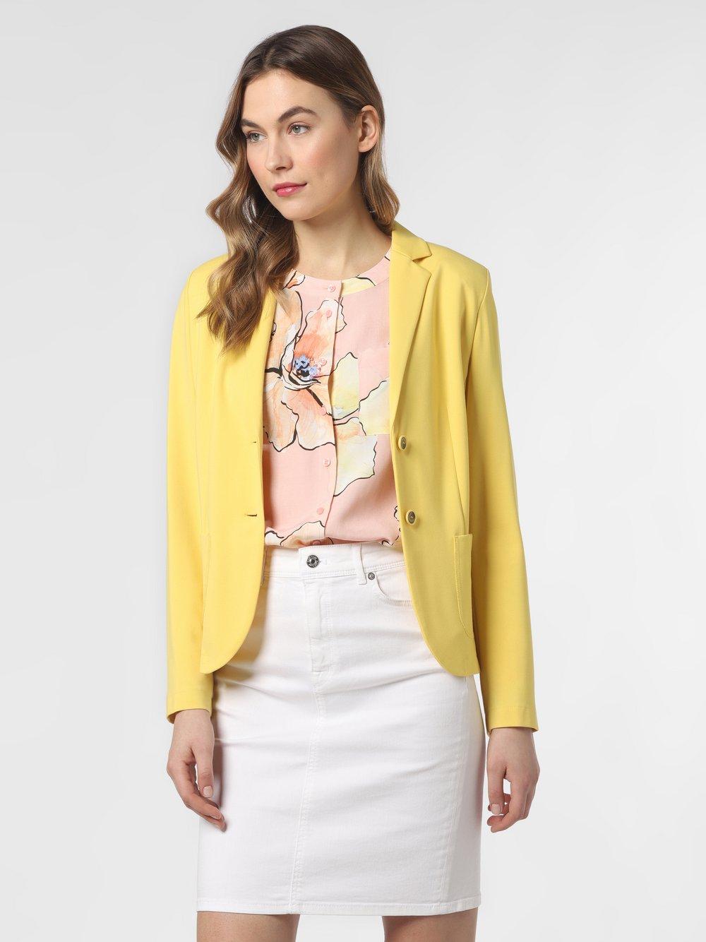 Rofa – Blezer damski, żółty Van Graaf 470650-0002-00400