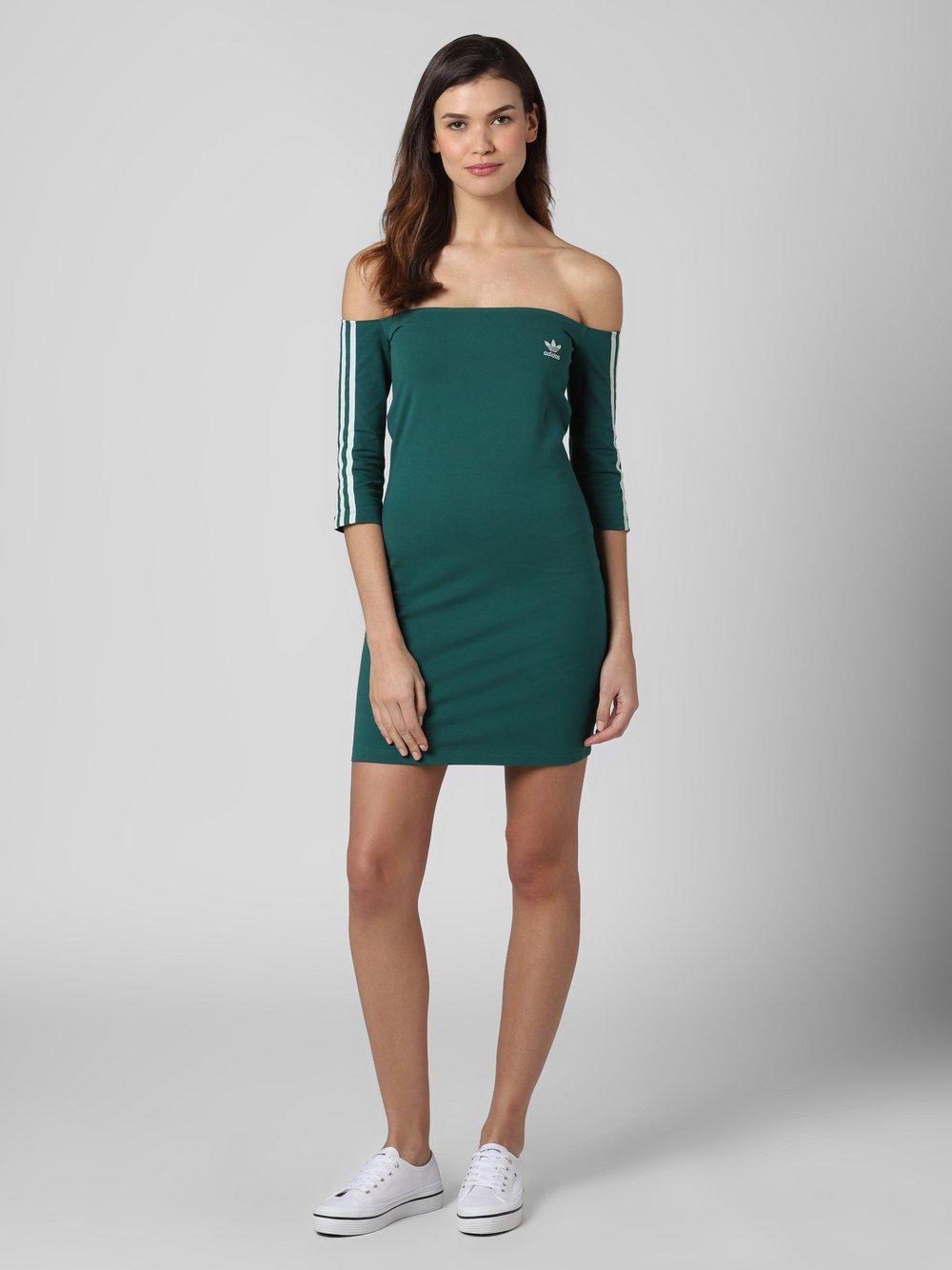adidas Originals - Sukienka damska, zielony