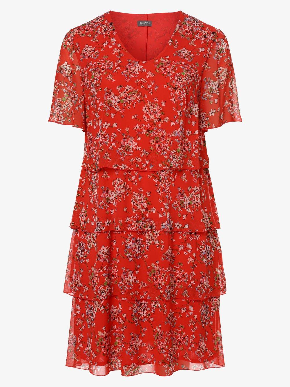 Samoon - Sukienka damska, czerwony