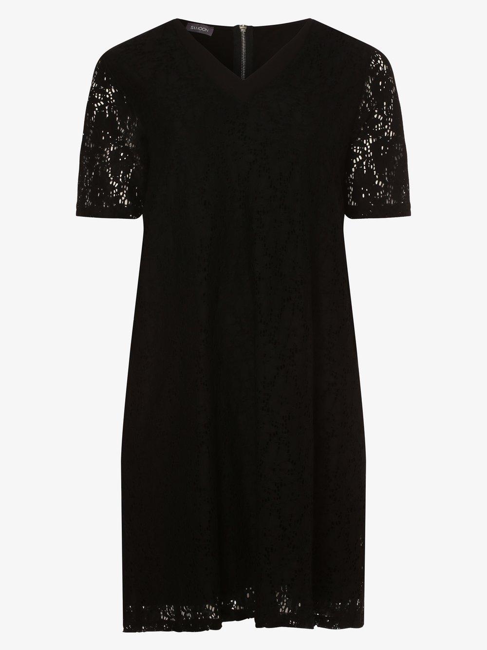 Samoon - Sukienka damska, czarny