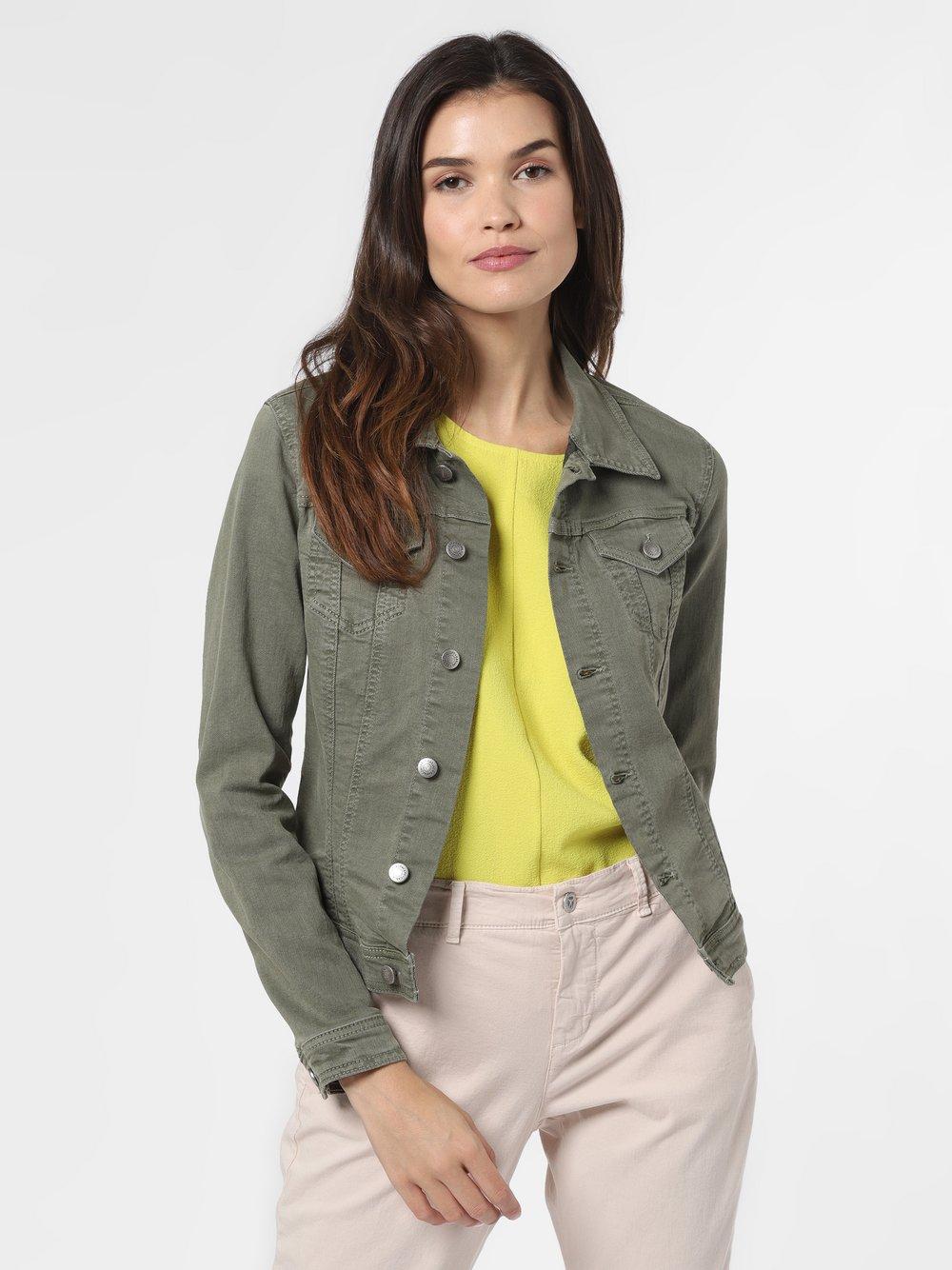 soyaconcept® – Damska kurtka jeansowa – SC-Jinx, zielony Van Graaf 470898-0002-09940