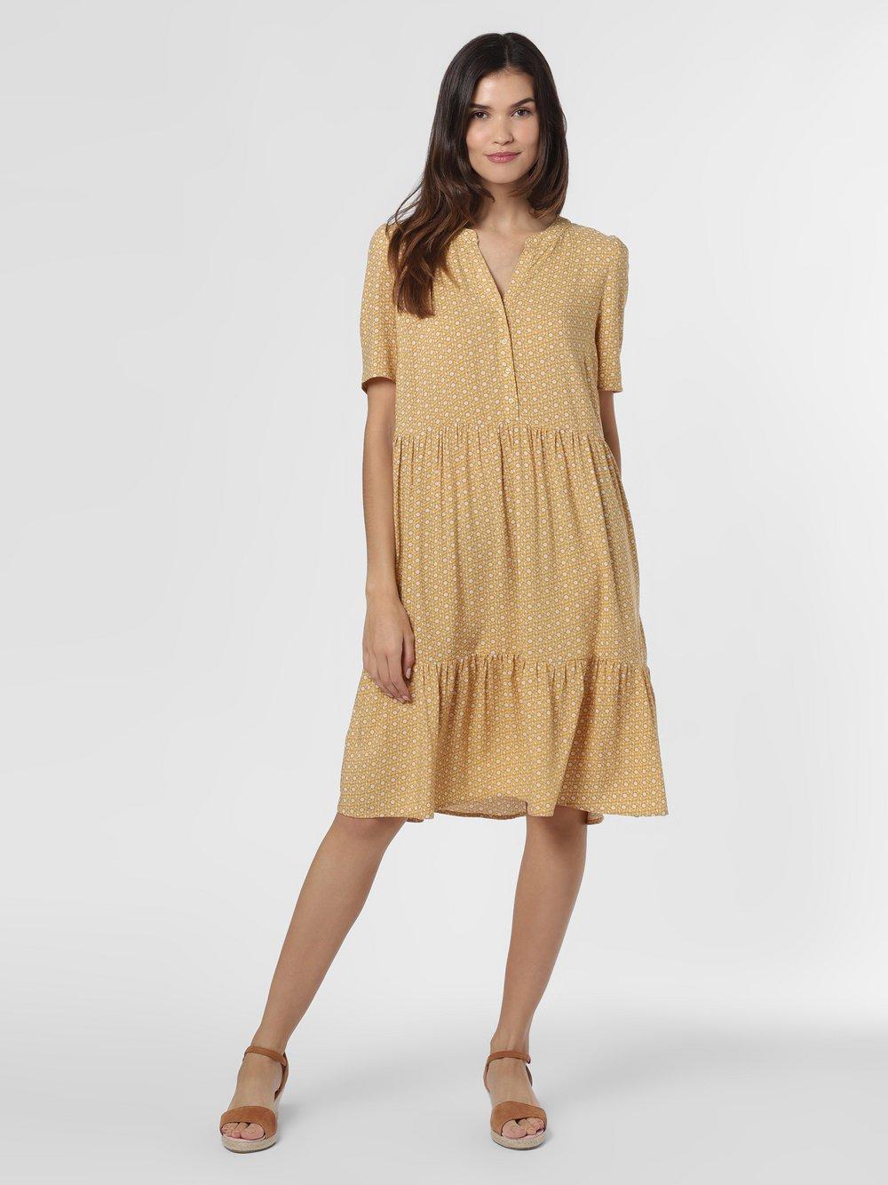 soyaconcept® - Sukienka damska – SC-Iggy 3, żółty