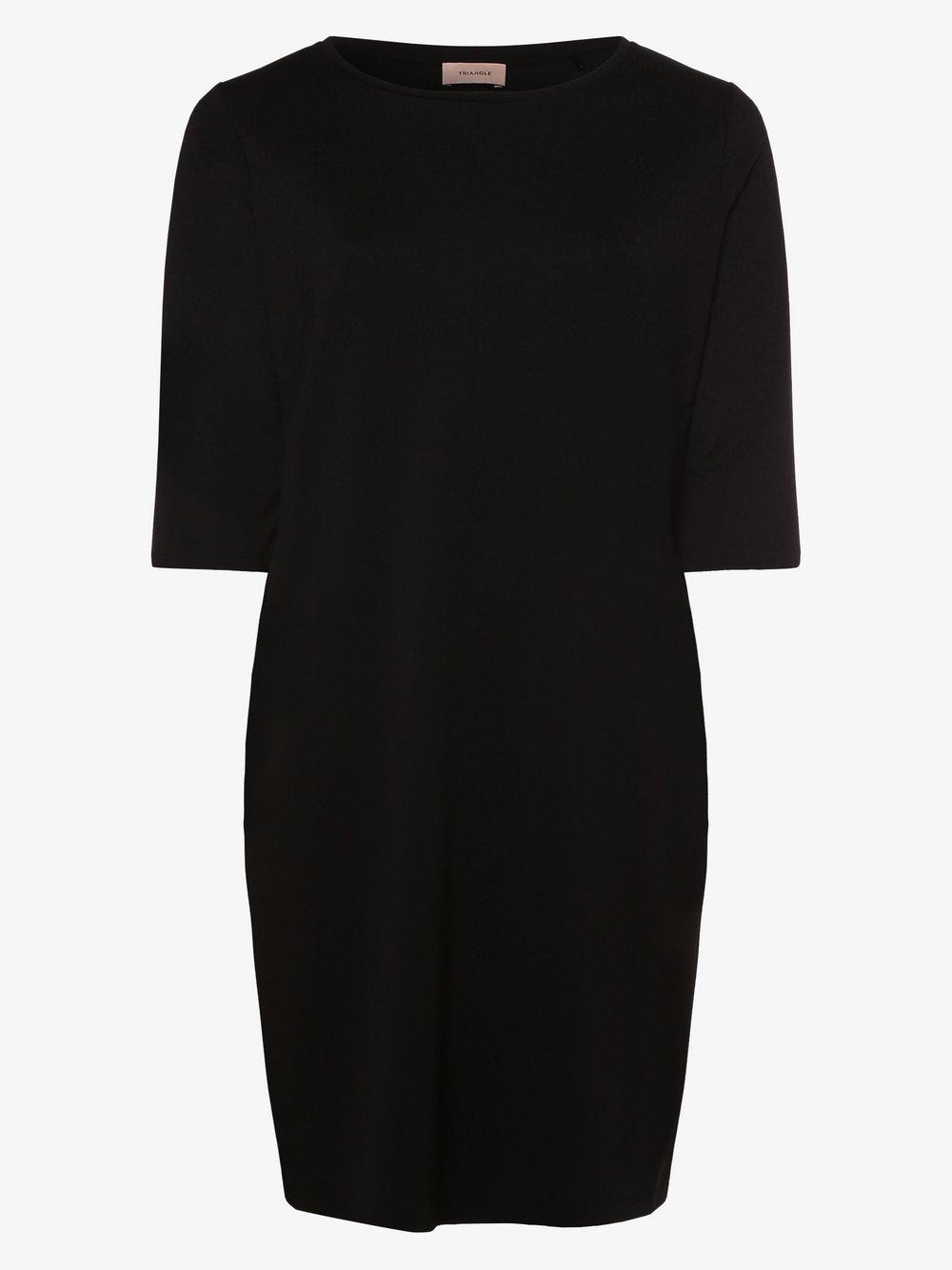 TRIANGLE - Sukienka damska, czarny