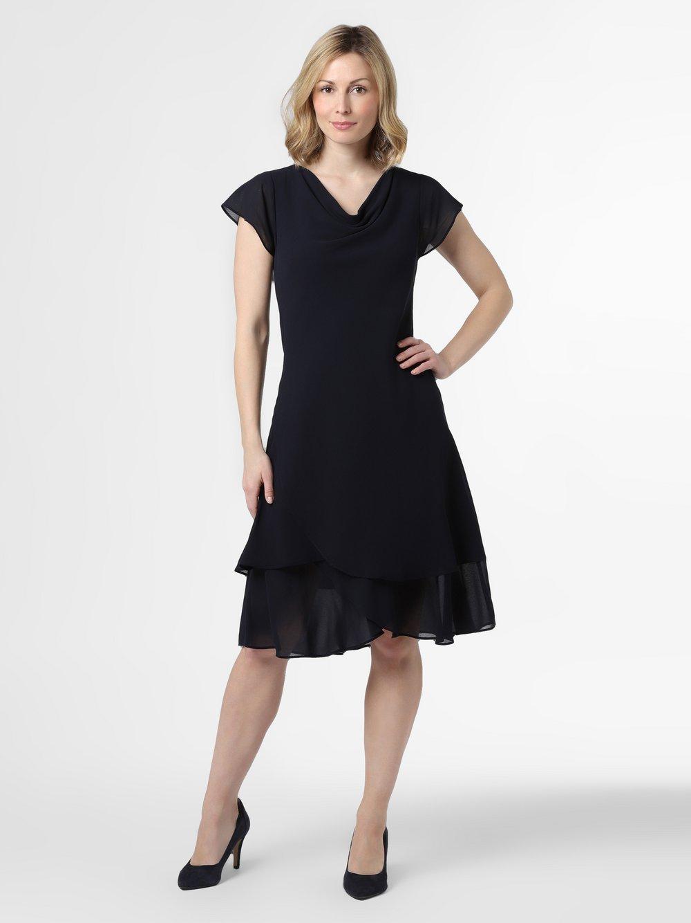 Ambiance – Damska sukienka wieczorowa, niebieski Van Graaf 470965-0001-00460