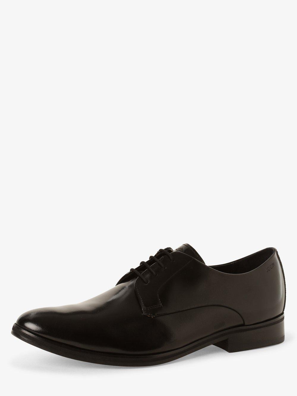 Joop - Męskie buty sznurowane ze skóry – Daniel, czarny