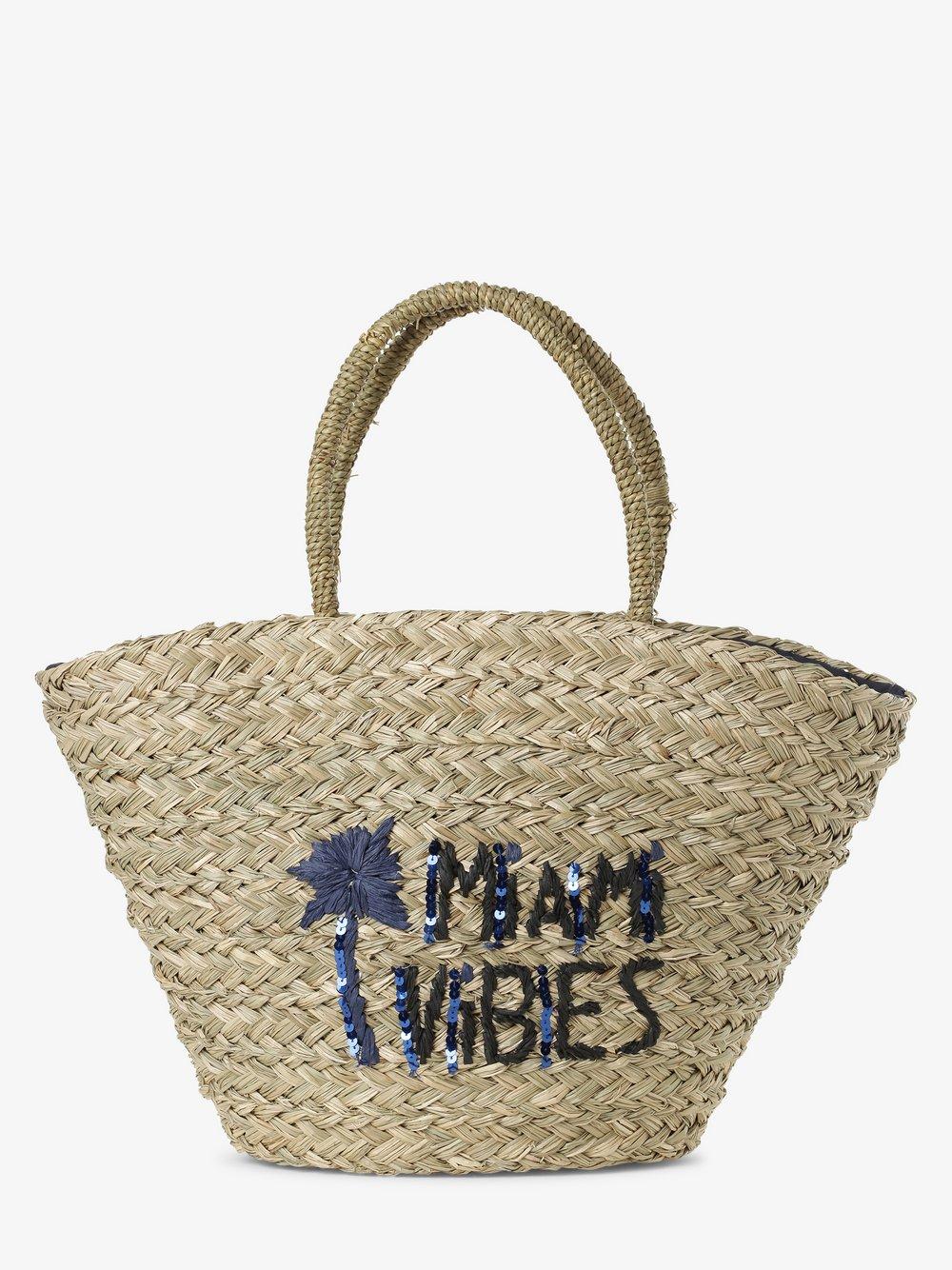 Marie Lund - Damska torba shopper, beżowy