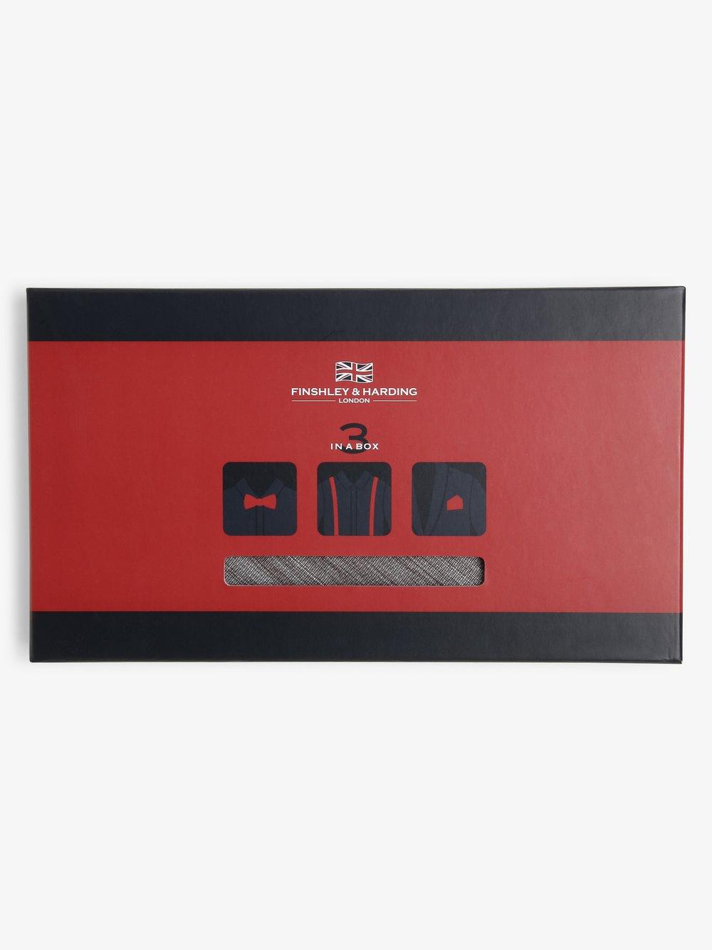 Finshley & Harding London – Zestaw akcesoriów dla mężczyzn, brązowy Van Graaf 471118-0001-00000
