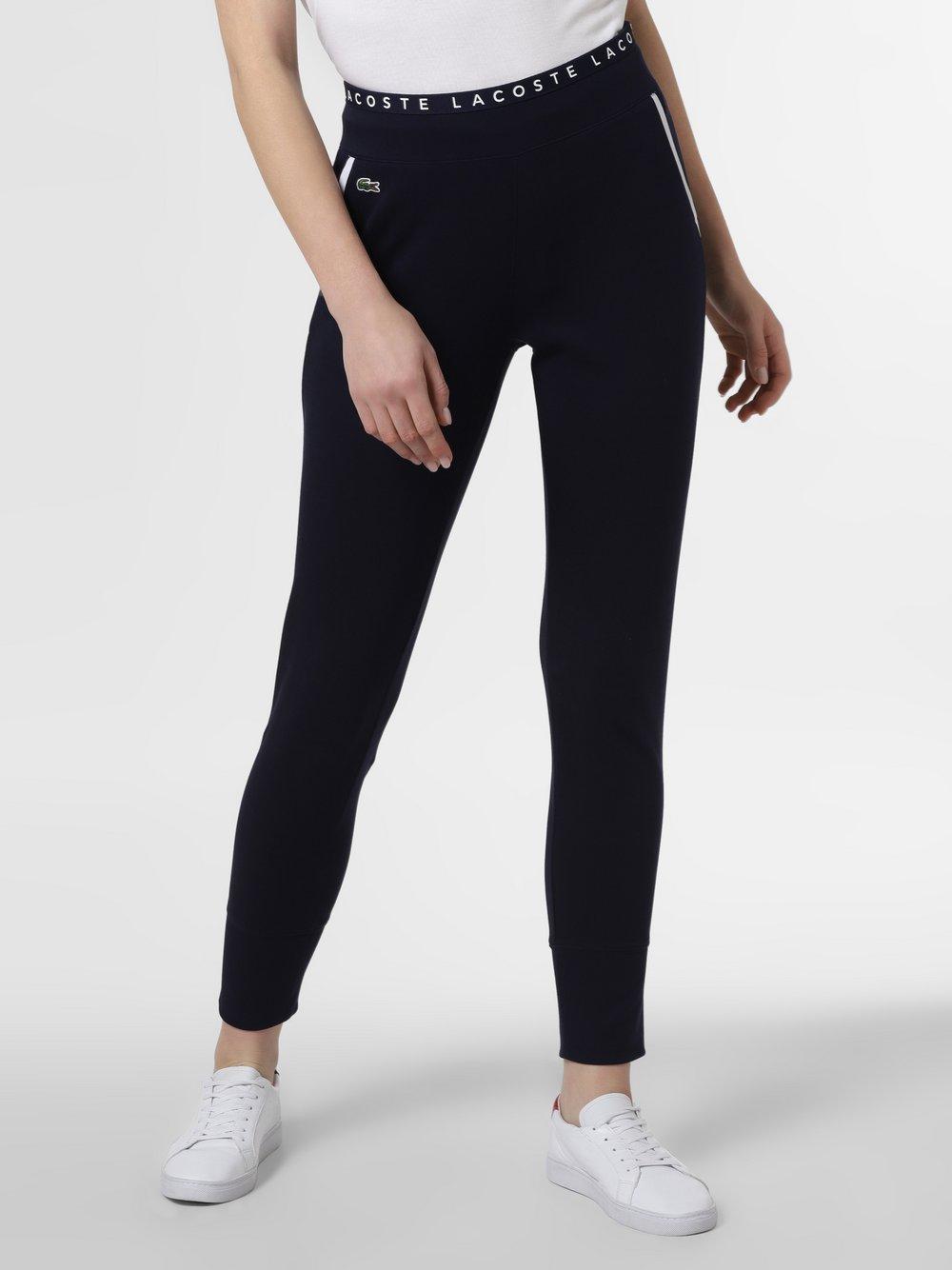 Lacoste - Damskie spodnie dresowe, niebieski