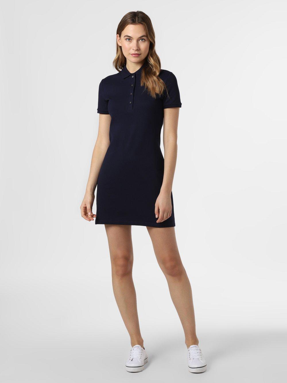 Lacoste - Sukienka damska, niebieski