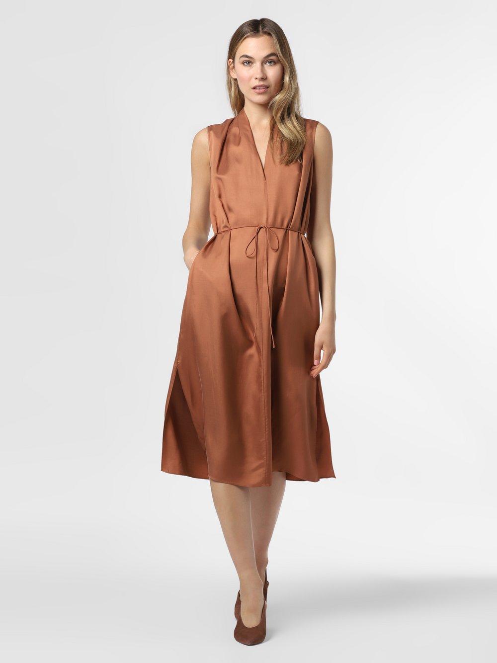 IPURI – Sukienka damska, pomarańczowy Van Graaf 471428-0002-00340