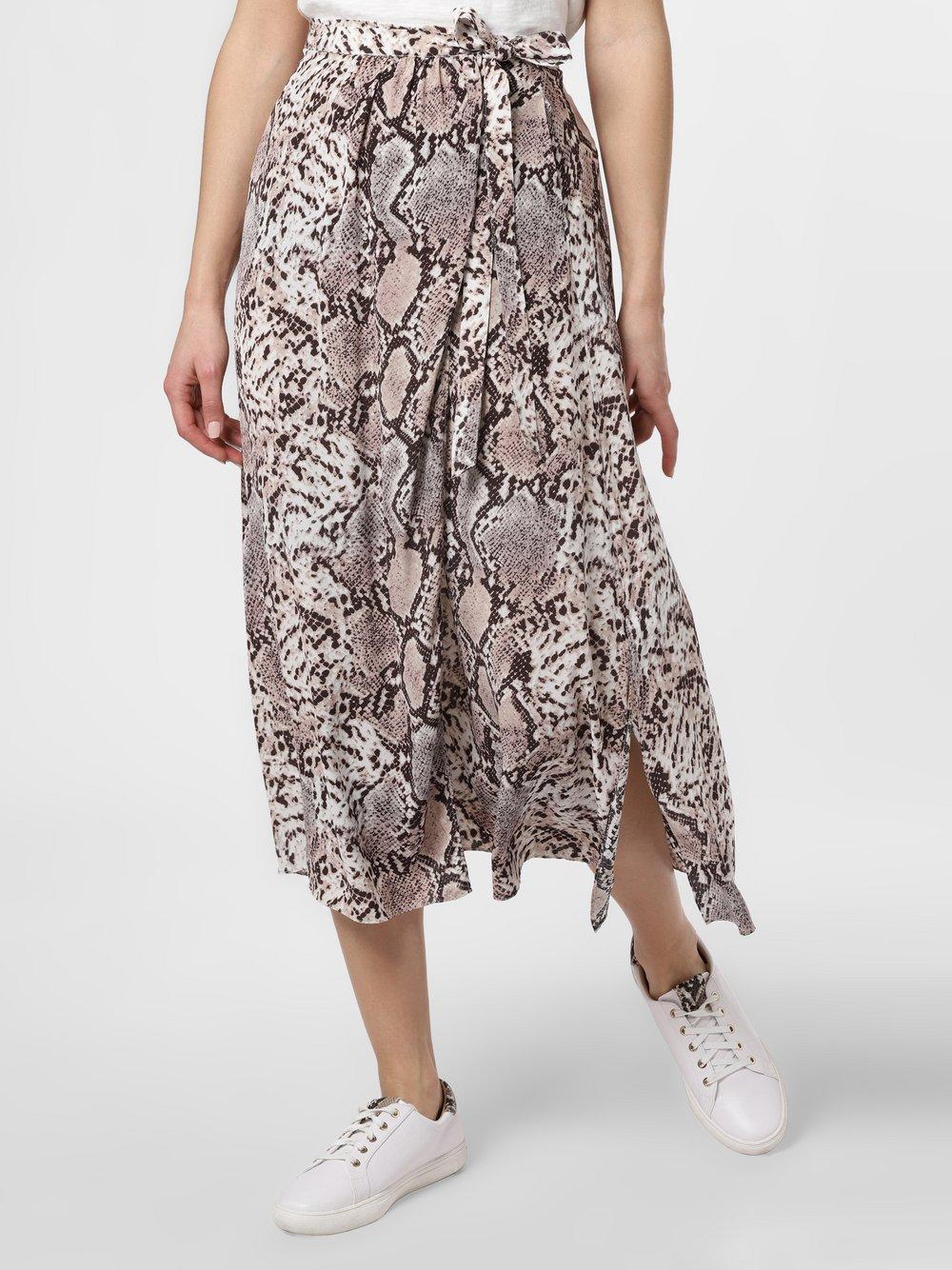 IPURI – Spódnica damska, brązowy Van Graaf 471429-0001-00440