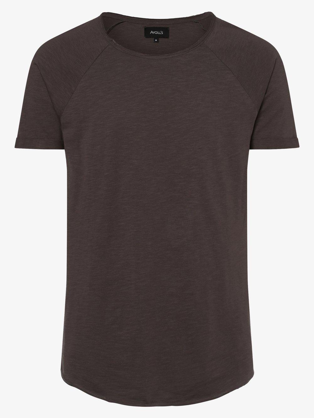 Aygill's - T-shirt męski, szary