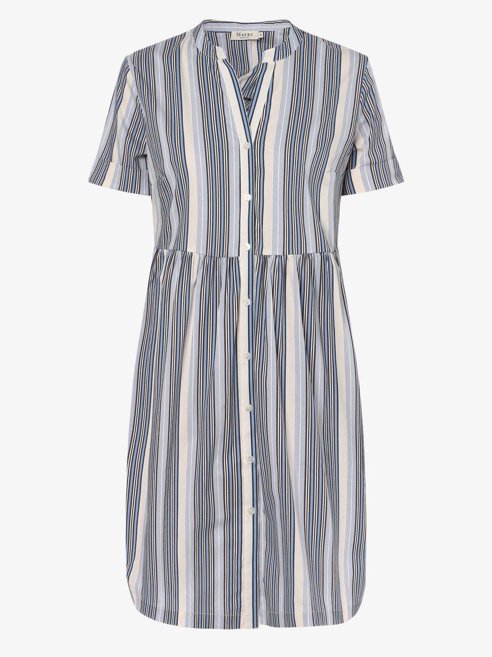 März – Sukienka damska, niebieski Van Graaf 471679-0001