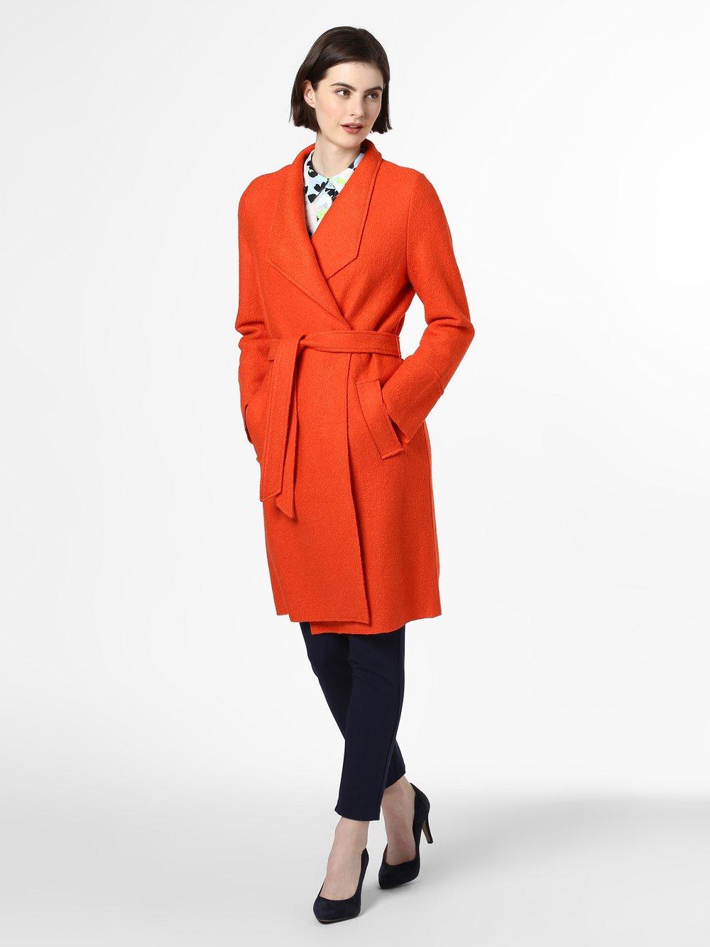 s.Oliver - Płaszcz damski, pomarańczowy
