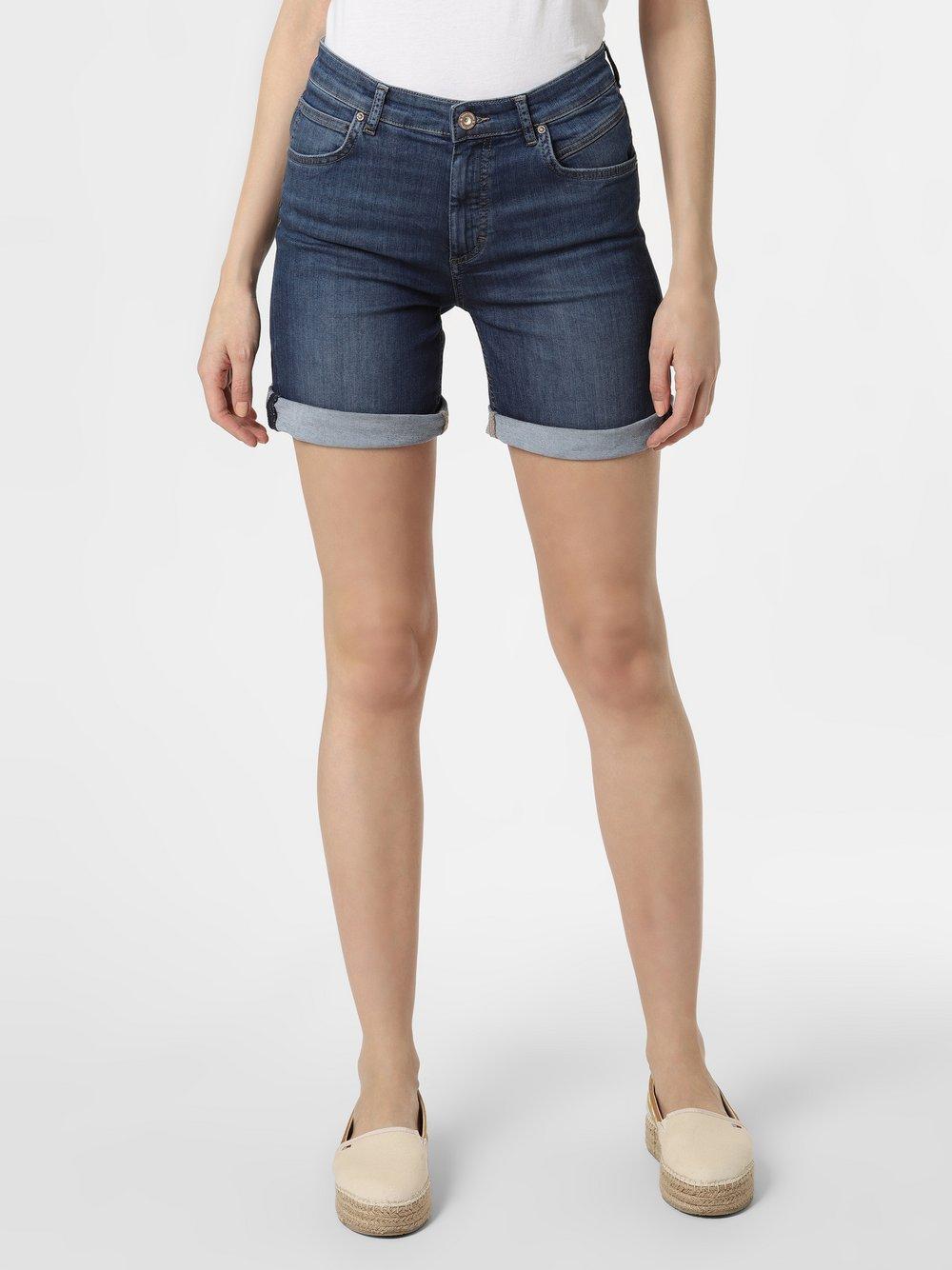 Marc O'Polo - Damskie krótkie spodenki jeansowe, niebieski