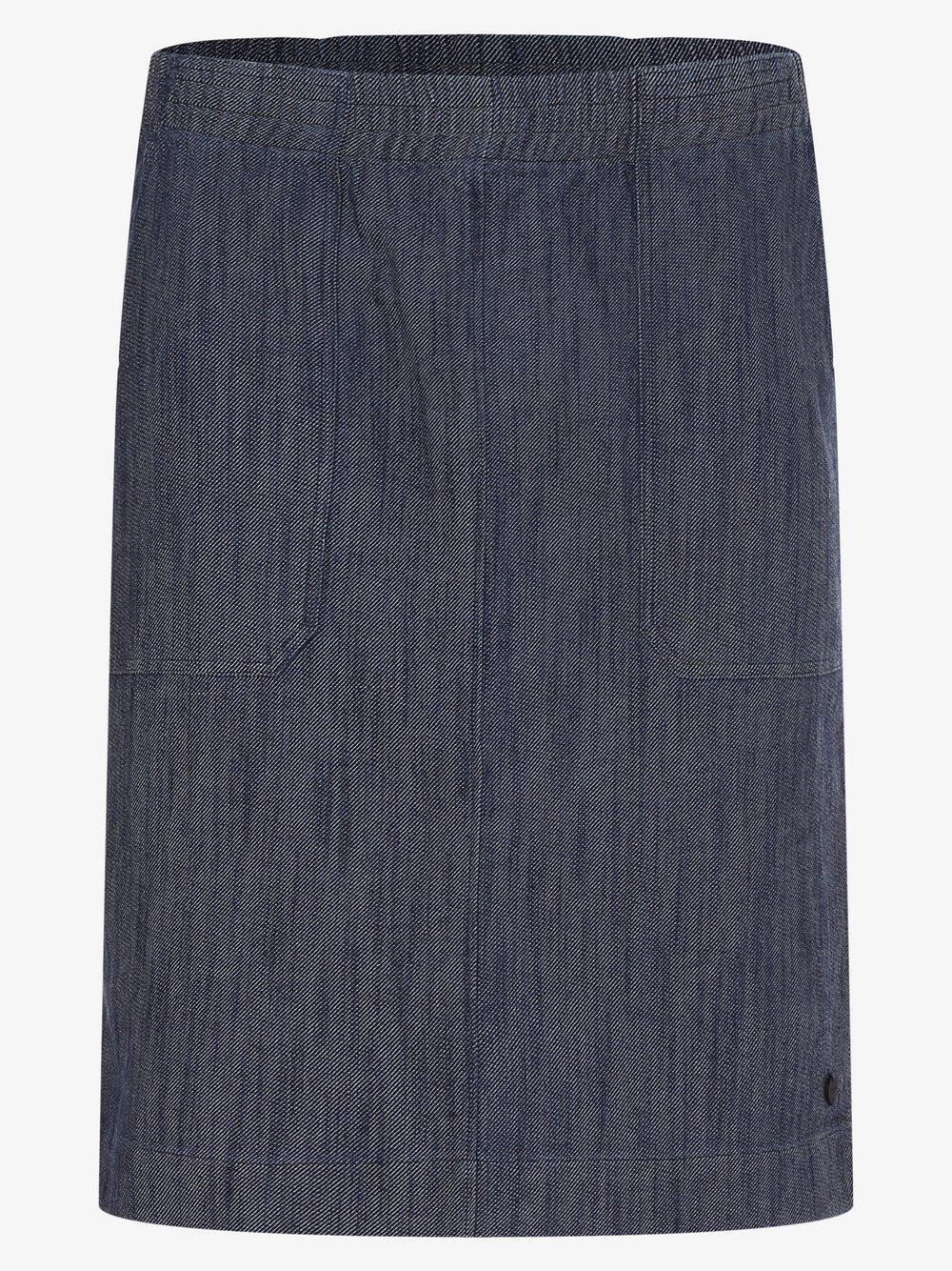 März – Spódnica damska, niebieski Van Graaf 471856-0001-00420