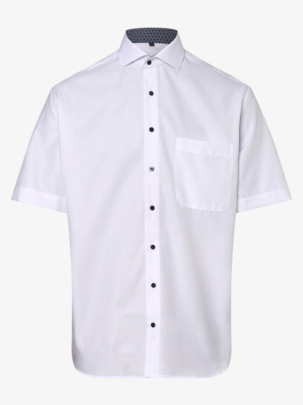 Eterna Comfort Fit - Koszula męska – niewymagająca prasowania, biały