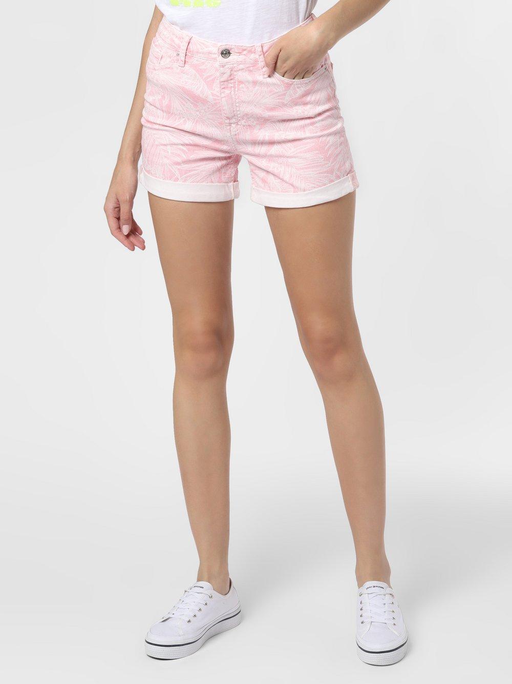 Tommy Hilfiger - Damskie krótkie spodenki jeansowe, różowy