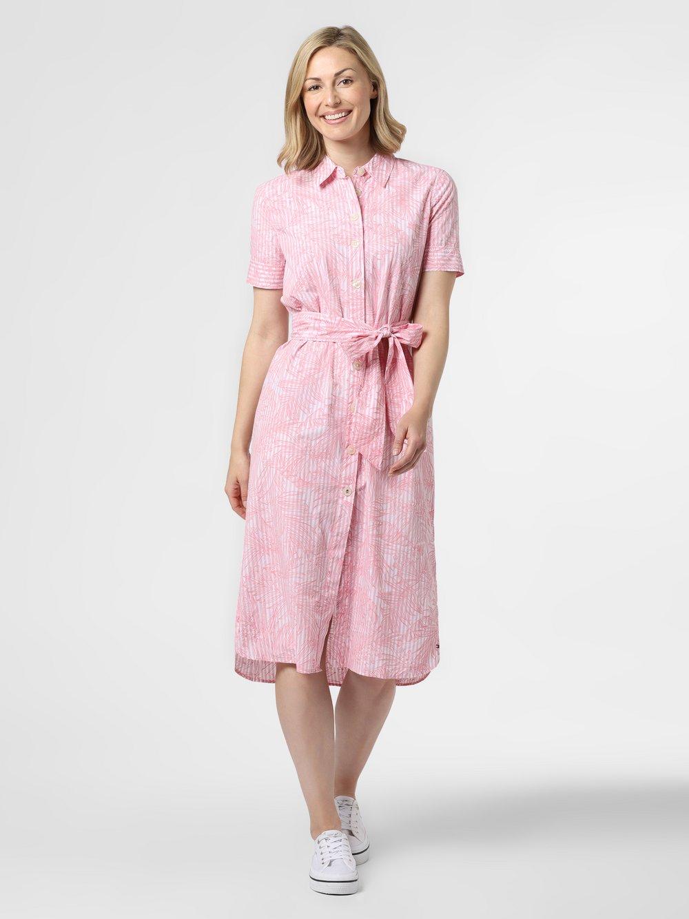 Tommy Hilfiger - Sukienka damska, różowy