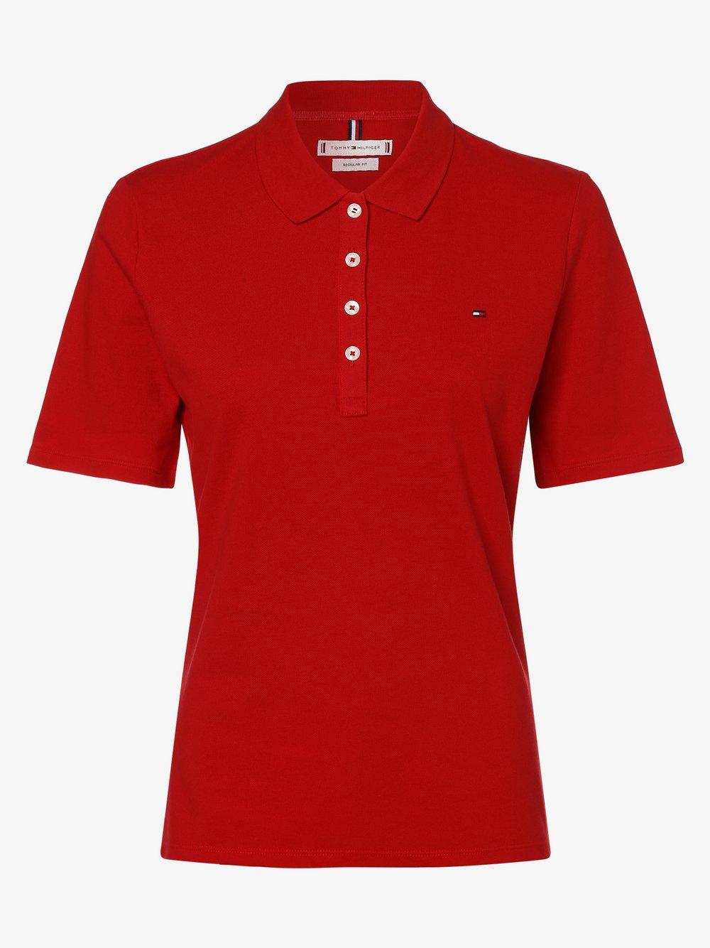Tommy Hilfiger Damska koszulka polo, czerwony