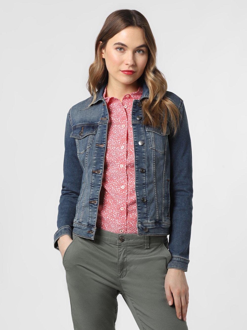 Esprit Casual – Damska kurtka jeansowa, niebieski Van Graaf 471908-0001