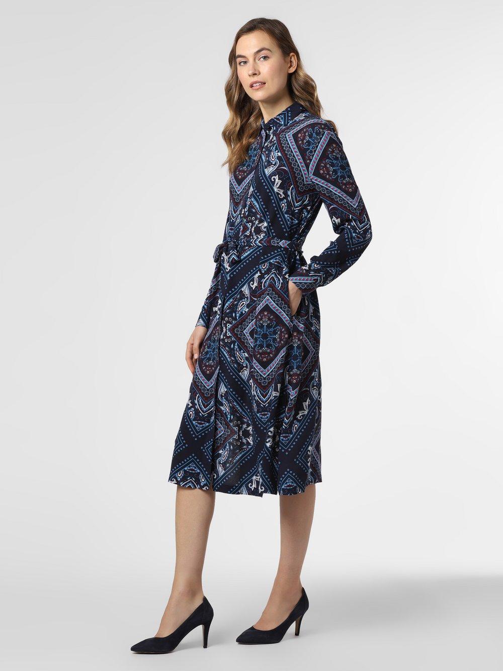 Esprit Casual - Sukienka damska, niebieski
