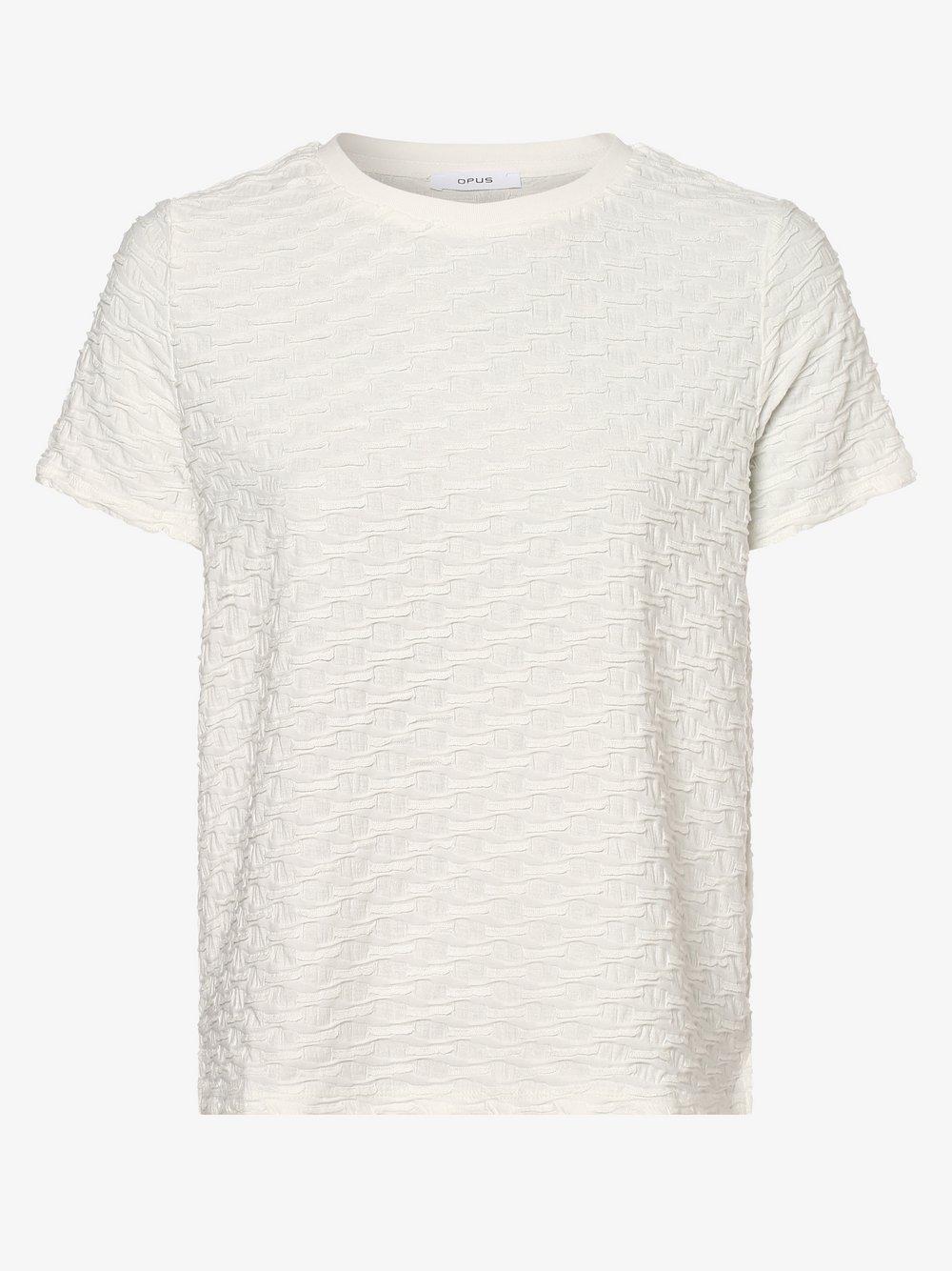 Opus - Koszulka damska – Sanny, beżowy