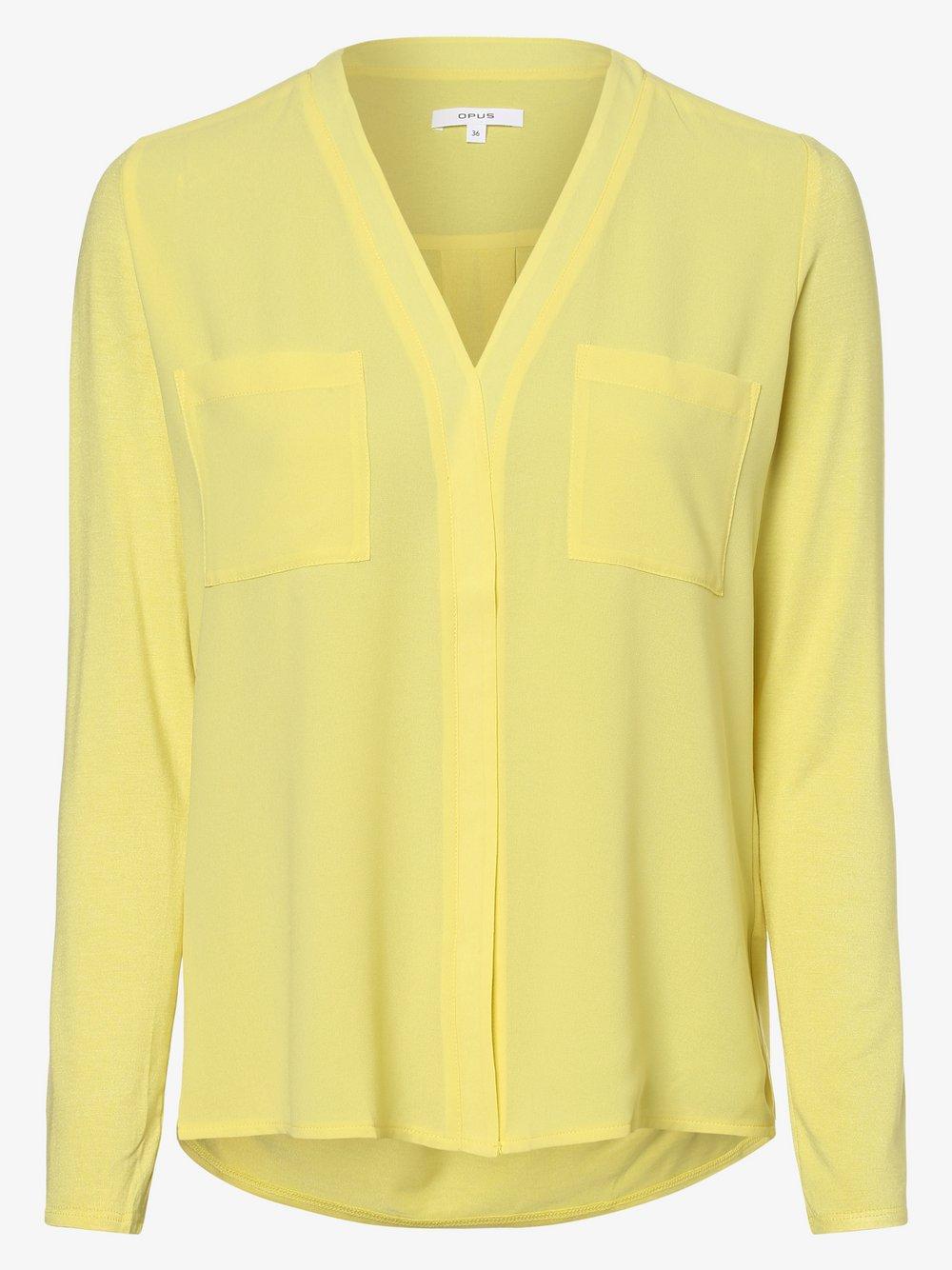 Opus - Bluzka damska – Fesa, żółty