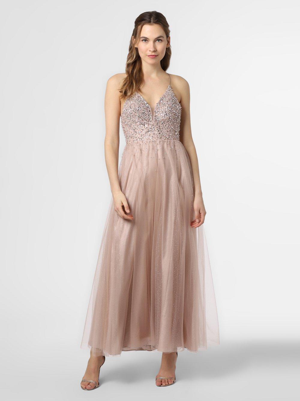 Laona – Damska sukienka wieczorowa, beżowy Van Graaf 472448-0002-00400