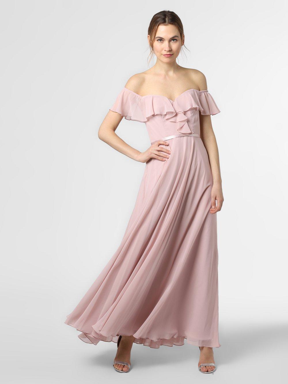 Laona – Damska sukienka wieczorowa, różowy Van Graaf 472449-0001-00380
