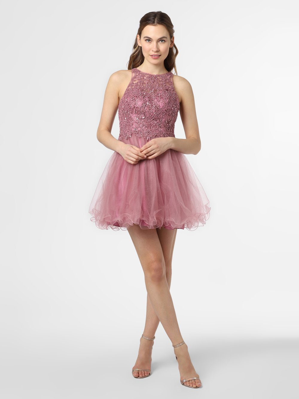Laona – Damska sukienka wieczorowa, różowy Van Graaf 472451-0001-00380