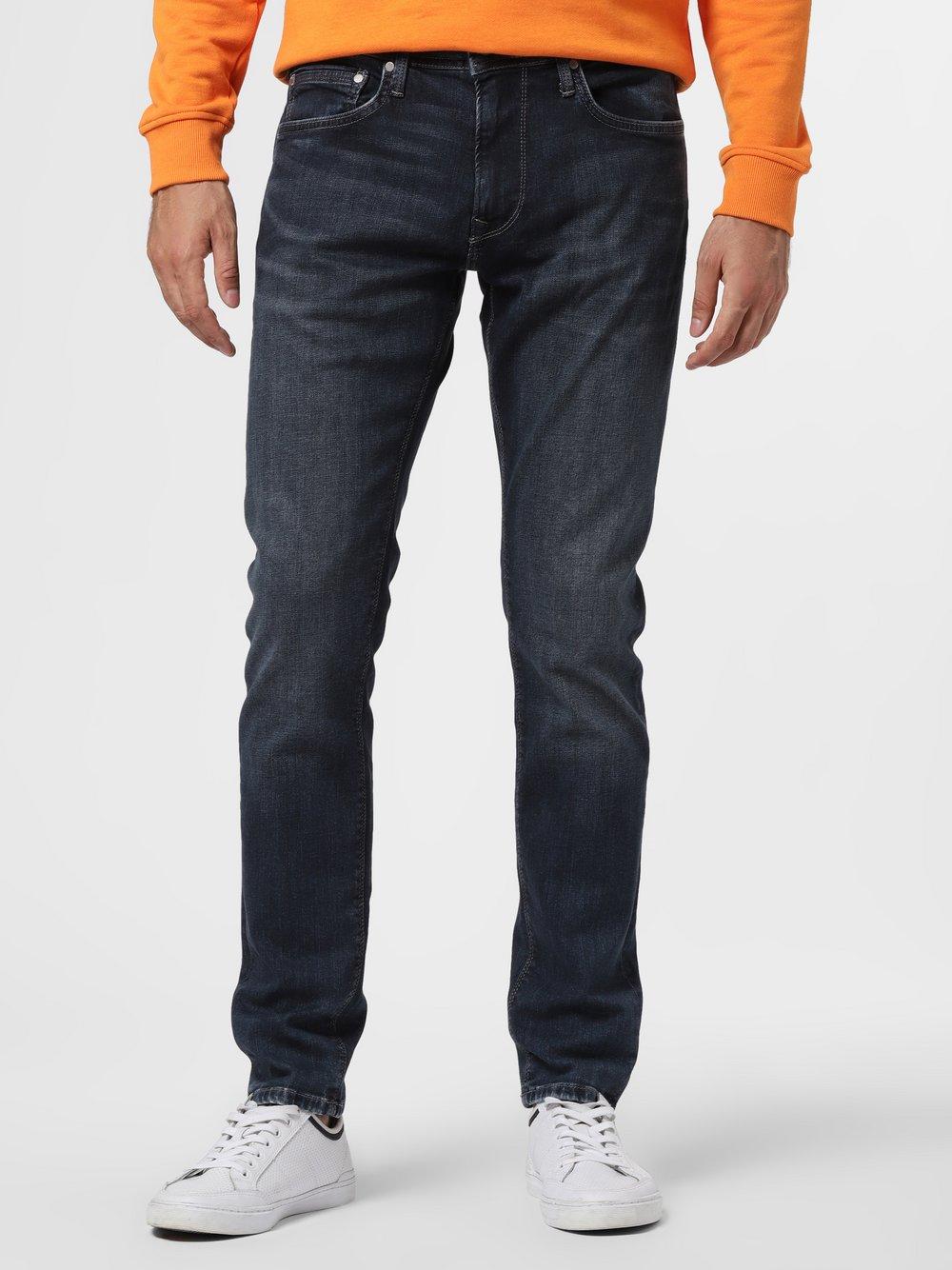 Pepe Jeans - Jeansy męskie – Stanley, niebieski