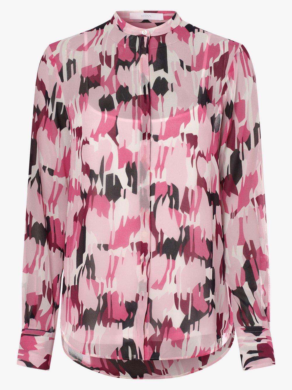 BOSS Casual – Bluzka damska – Efelize_17, różowy Van Graaf 473057-0001-00340