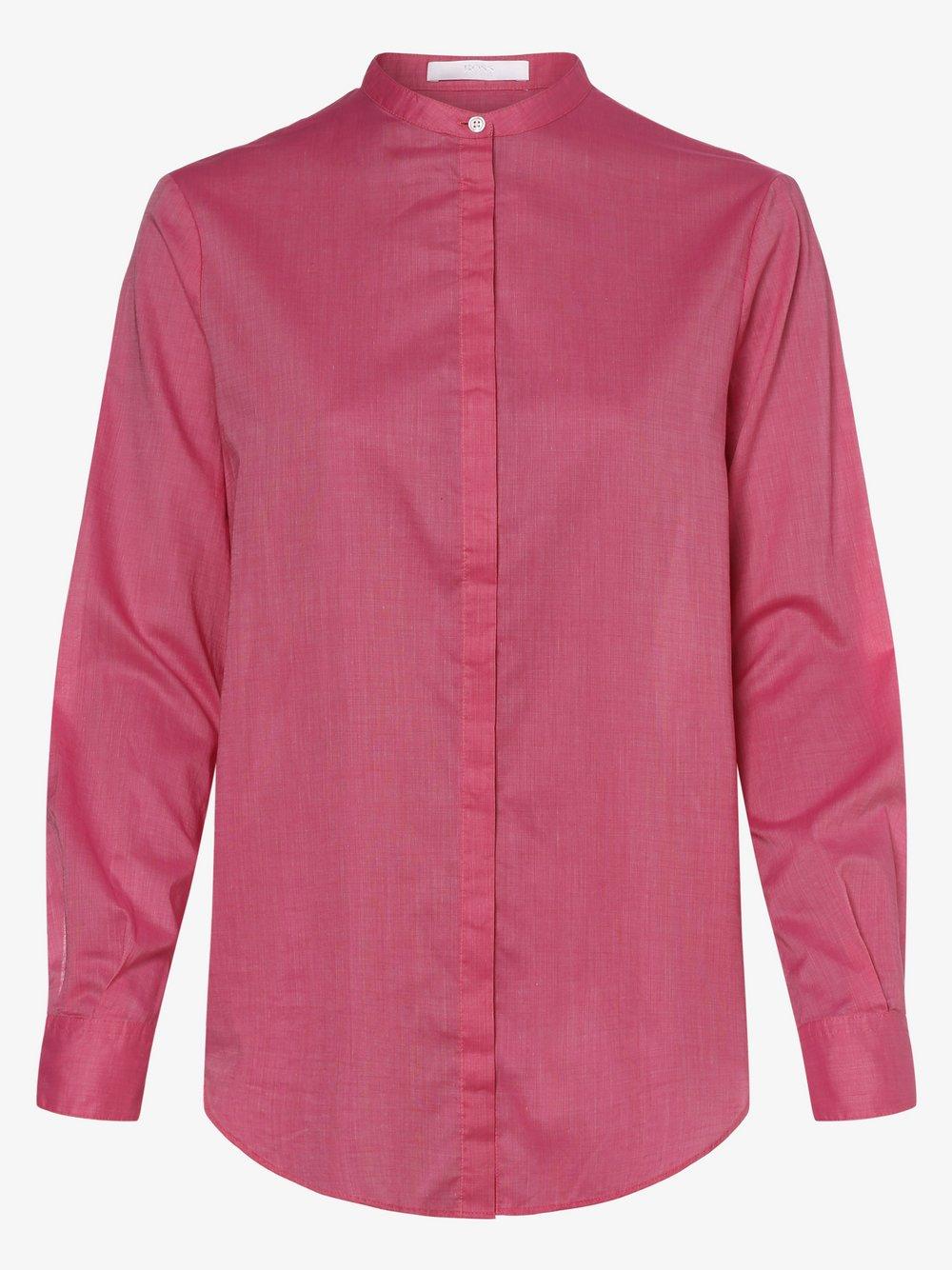 BOSS Casual – Bluzka damska – Efelize_17, różowy Van Graaf 473058-0001-00420