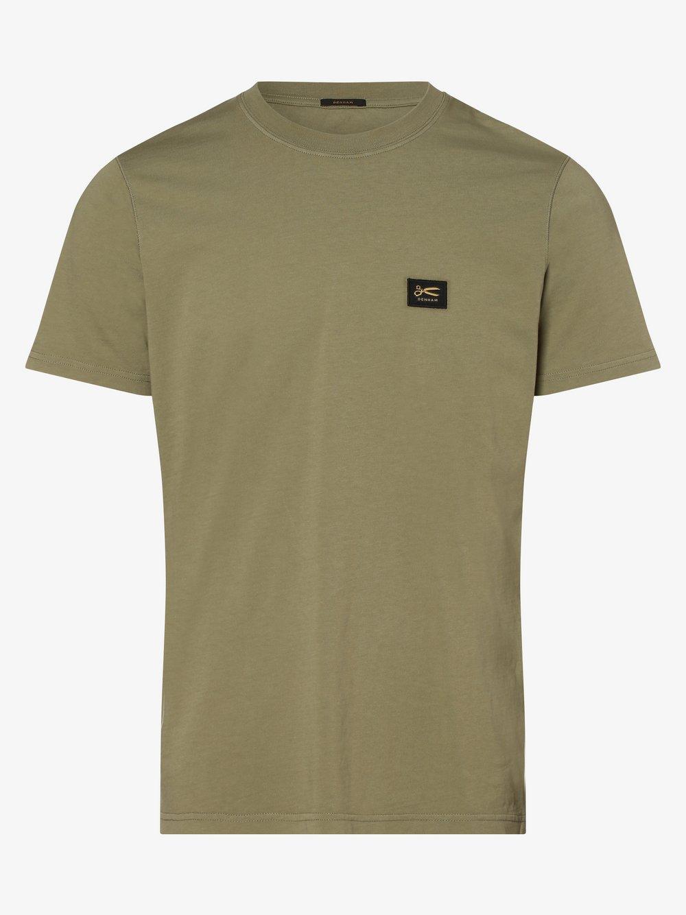 DENHAM – T-shirt męski, niebieski Van Graaf 473195-0001-09920