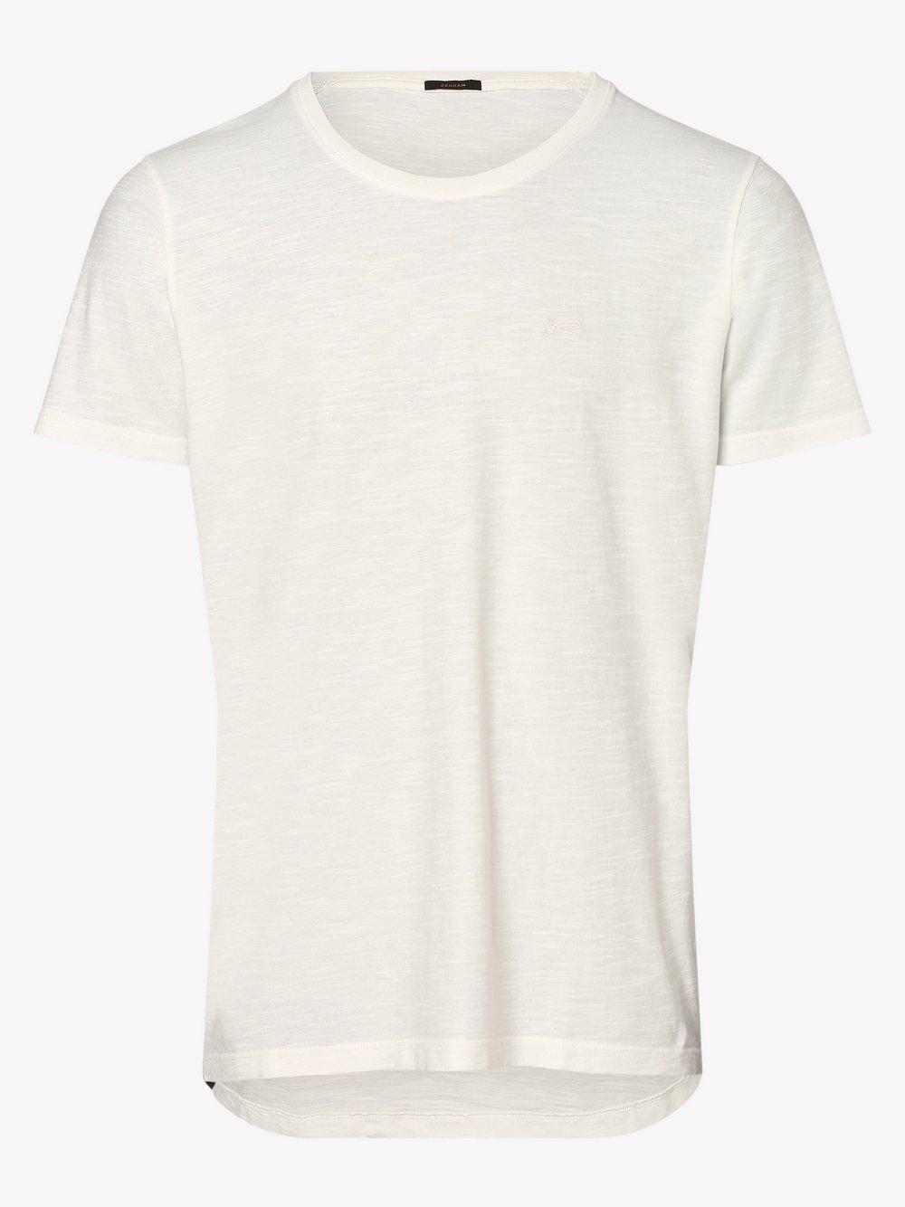 DENHAM – T-shirt męski, biały Van Graaf 473196-0001-09970
