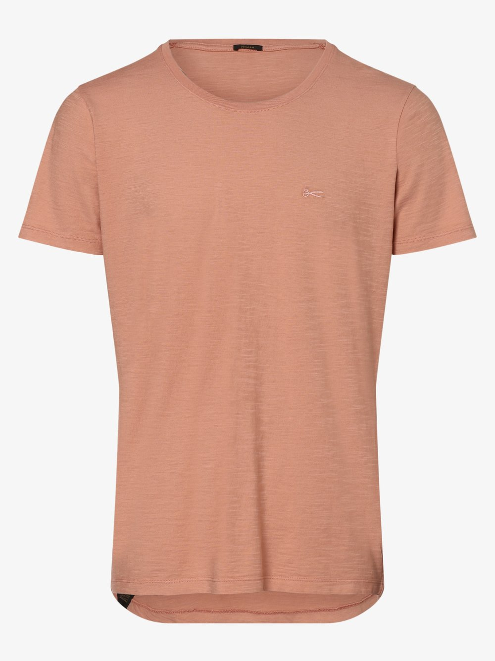 DENHAM – T-shirt męski, różowy Van Graaf 473197-0001-09940