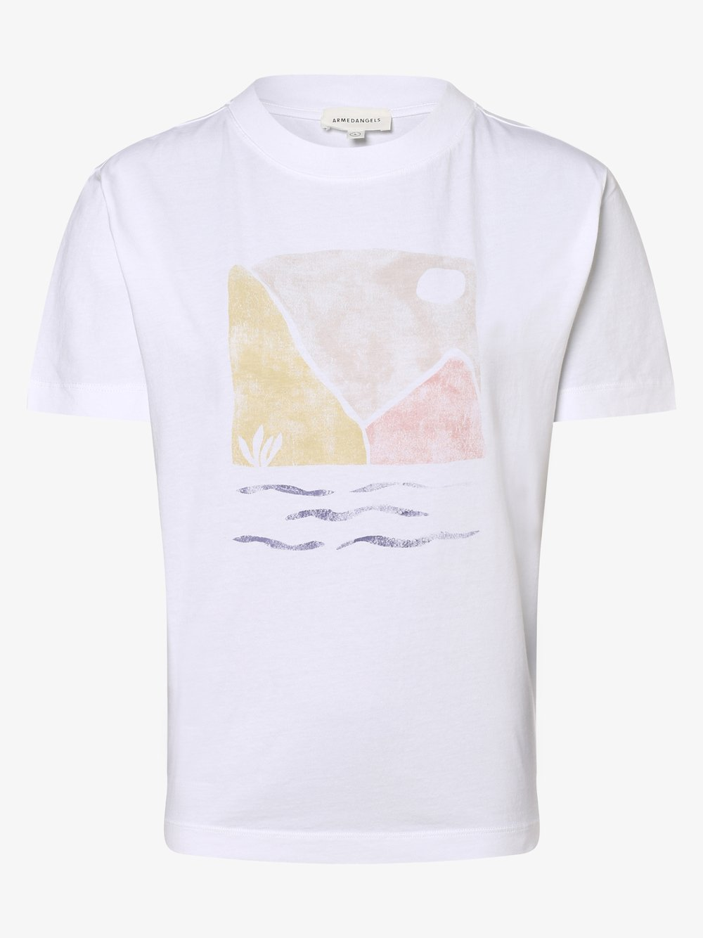 ARMEDANGELS - T-shirt damski – Miaa, biały