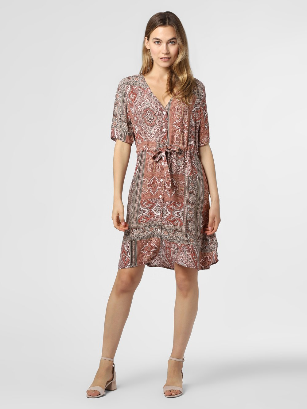 Minimum – Sukienka damska – Solally, czerwony Van Graaf 473308-0001-00360