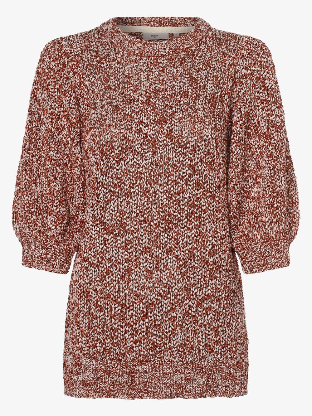 Minimum – Sweter damski – Vittoria, pomarańczowy Van Graaf 473320-0001