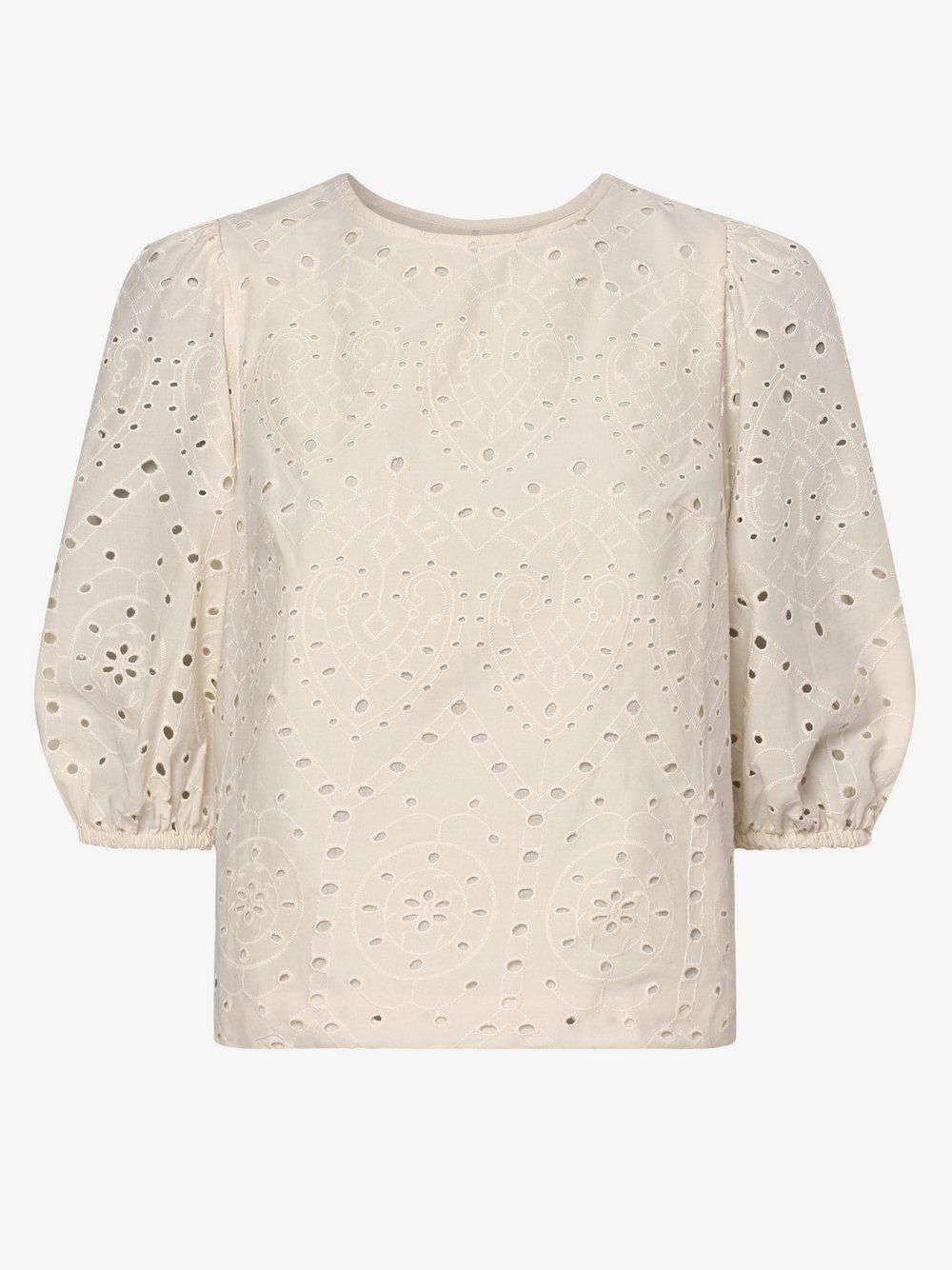 Vero Moda – Bluzka damska – Vmnorah, beżowy Van Graaf 473372-0001