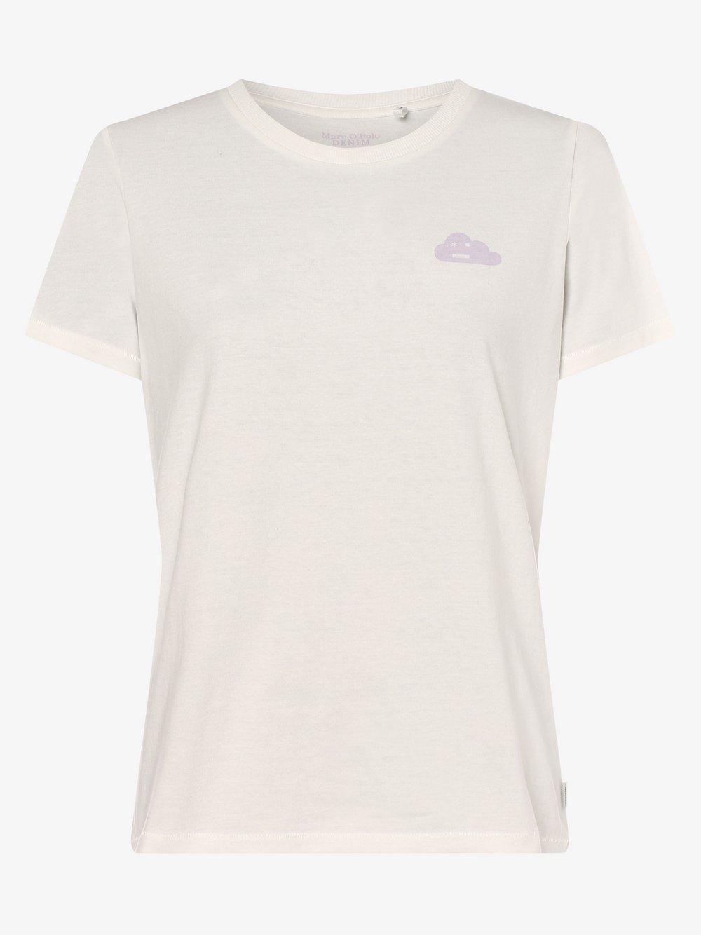 Marc O'Polo Denim – T-shirt damski, biały Van Graaf 473426-0002