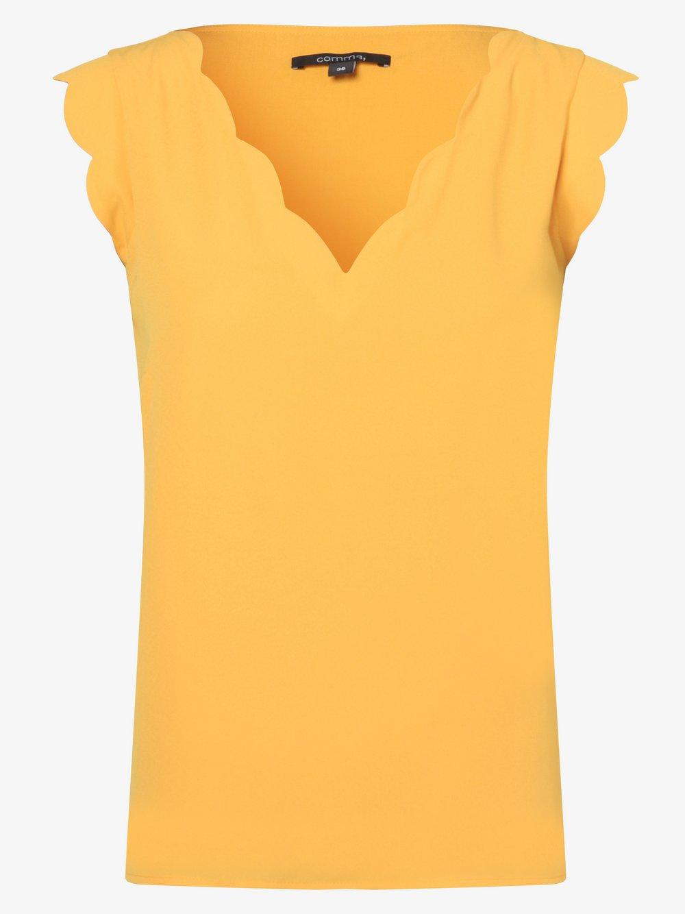 comma - Bluzka damska, pomarańczowy