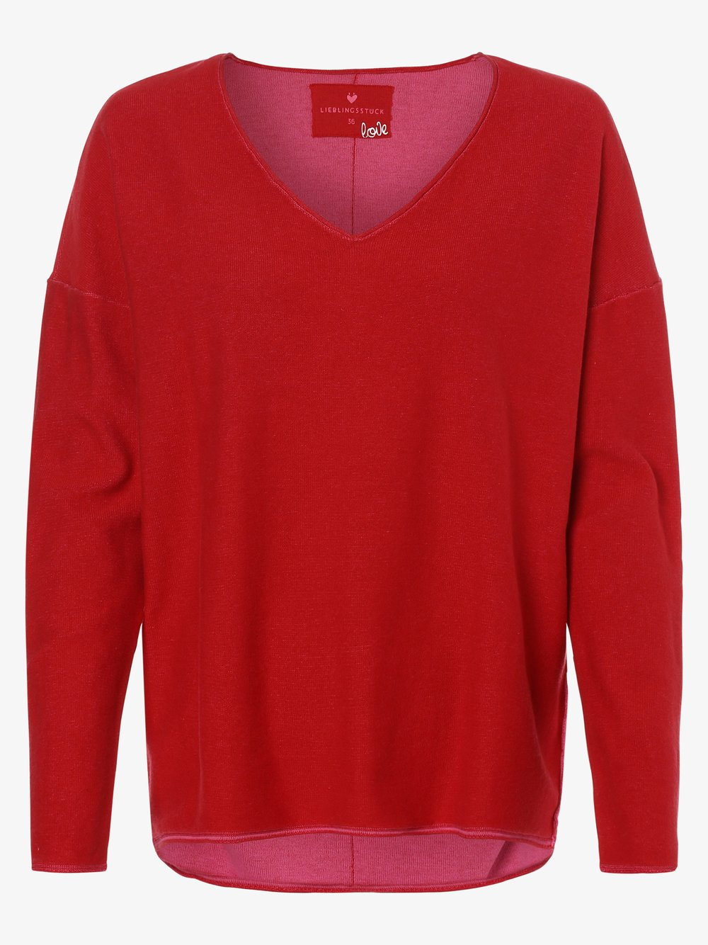 Lieblingsstück - Sweter damski – KatiL, czerwony