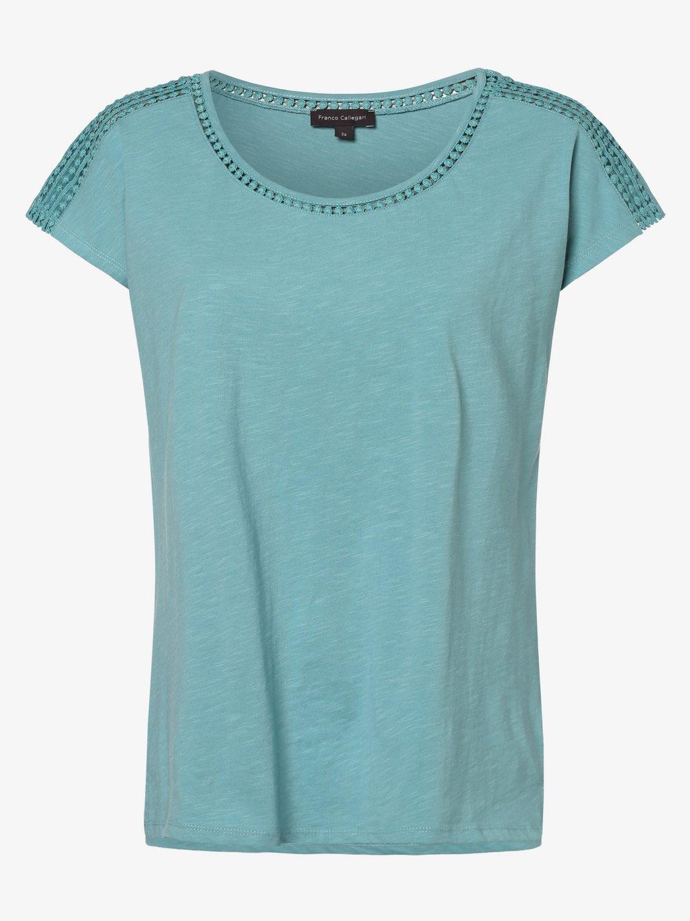 Franco Callegari - T-shirt damski, zielony
