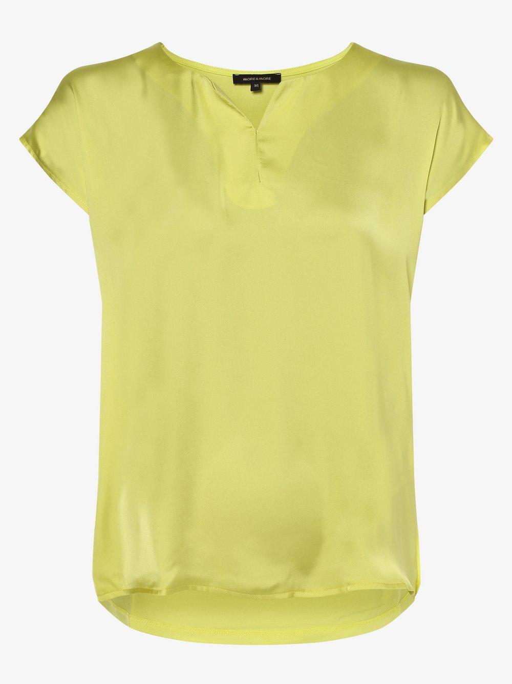 More & More - Koszulka damska, żółty